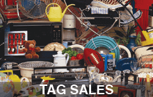 Classified Marketplace Garage / Tag Sales